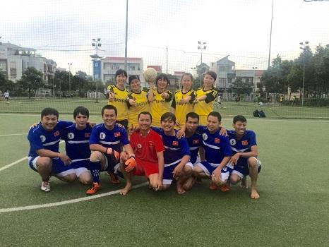 Hoạt động thể thao ý nghĩa được Văn phòng Cần Thơ tổ chức cho CBNV