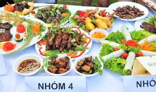 Những tác phẩm ẩm thực đầy màu sắc đẹp mắt