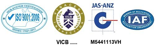 Dấu hiệu chứng nhận ISO 9001
