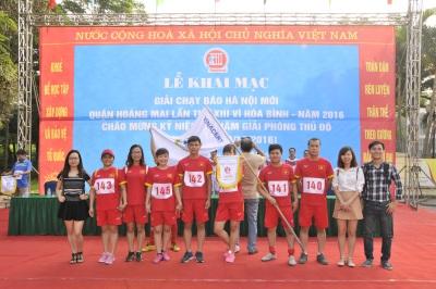 VinaCert tham gia Giải chạy Báo Hà Nội mới năm 2016
