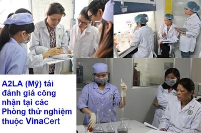 A2LA (Mỹ) tái đánh giá công nhận các phòng thử nghiệm thuộc VinaCert