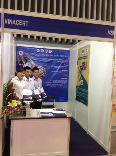 VinaCert tham gia triển lãm VietStock 2014