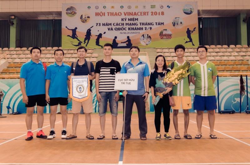 Hội thao Vinacert 2018