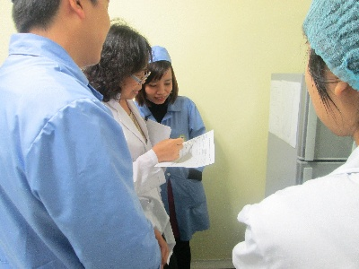 Cục ATTP đánh giá chỉ định cơ sở kiểm nghiệm thực phẩm đối với phòng thử nghiệm VinaCert- Hà Nội
