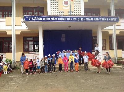 VinaCert đi từ thiện tại Quảng Bình
