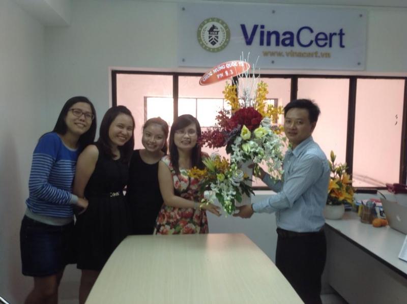 VinaCert tổ chức kỷ niệm ngày Quốc tế phụ nữ 8-3