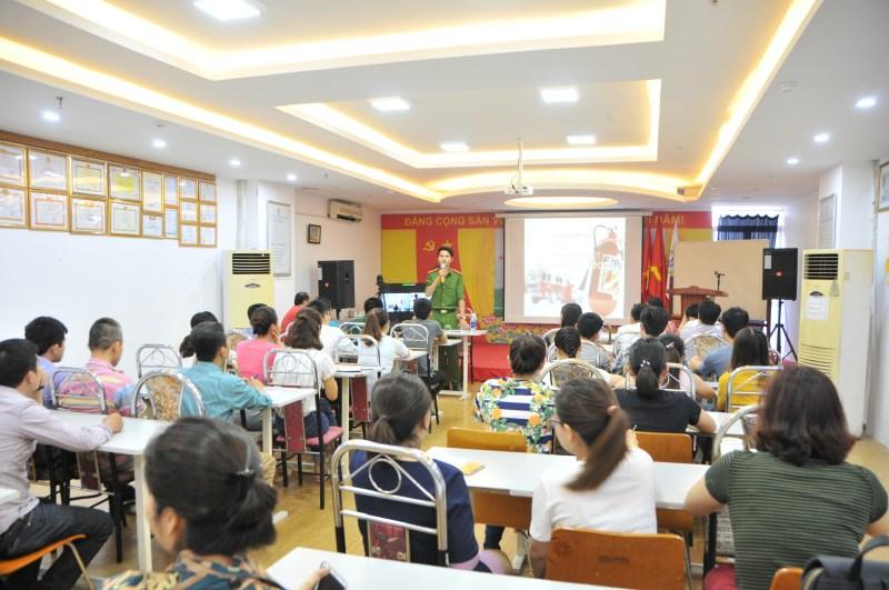 Tập huấn nghiệp vụ PCCC