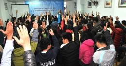 VinaCert tổ chức buổi Đối thoại và ký kết Thoả ước lao động tập thể