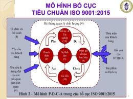 Mô hình bố cục tiêu chuẩn ISO 9001:2015