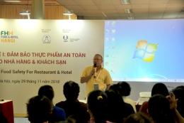 VinaLAB tổ chức hội thảo chuyên đề về an toàn thực phẩm tại Food&Hotel