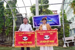 Chi đoàn Sở KHCN Kiên Giang và Chi đoàn VinaCert: Hướng đến sân chơi ngày một gắn kết