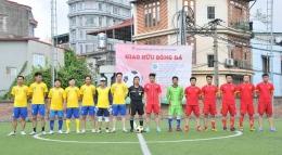 Chi đoàn VinaCert tổ chức thành công buổi giao hữu thể thao với các chi đoàn bạn