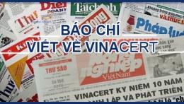 Báo phapluatnet.vn cáo lỗi VinaCert vi đăng tải những thông tin chưa chính xác