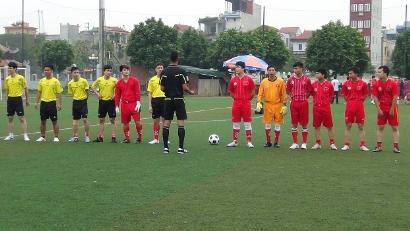 Đoàn thanh niên VinaCert tham gia giải bóng đá quận Hoàng Mai lần thứ XI năm 2014