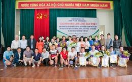 Đoàn vận động viên VinaCert đoạt nhiều thành tích tại giải cầu lông quận Hoàng Mai