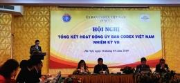 VinaCert tham dự Hội nghị tổng kết hoạt động của Ủy ban Codex Việt Nam nhiệm kỳ VII