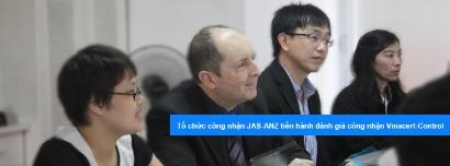 Tổ chức công nhận JAS-ANZ của Australia và New Zealand tiến hành đánh giá công nhận ISO/IEC 17065:2012, ISO/IEC 17021:2011, ISO/TS 22003:2013 cho Vinacert
