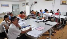 VinaCert đào tạo nội bộ chuyên gia đánh giá trại giống thủy sản