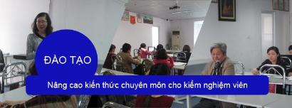 VinaCert tổ chức đào tạo nâng cao kiến thức chuyên môn cho thử nghiệm viên