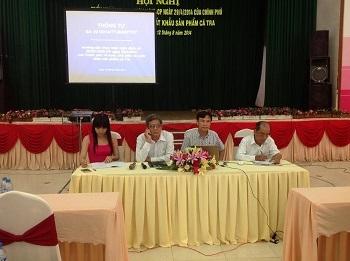 Hội nghị triển khai nghị định 36/2014/NĐ-CP và thông tư 23 tại tỉnh Đồng Tháp