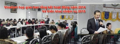 VinaCert họp giao ban tổng kết hoạt động năm 2014 và triển khai nhiệm vụ 2015