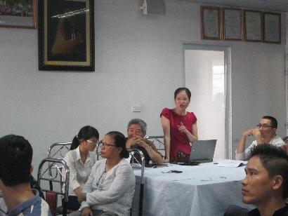 VinaCert tổ chức khóa tập huấn chuyên gia đánh giá năm 2015