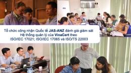 Tổ chức công nhận Quốc tế JAS-ANZ đánh giá giám sát Hệ thống quản lý của VinaCert theo ISO/IEC 17021; ISO/IEC 17065 và ISO/TS 22003