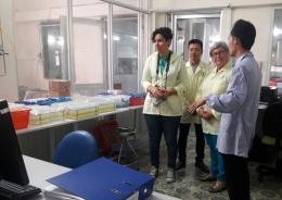 Phòng Thử nghiệm 3 của VinaCert đón tiếp đoàn khách Cộng hòa Costa Rica đến thăm quan
