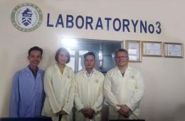 Tập đoàn Rush Group thăm Phòng thử nghiệm 3 của VinaCert