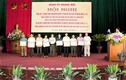 Chi bộ VinaCert được Quận ủy Hoàng Mai biểu dương vì có thành tích trong công tác dân vận