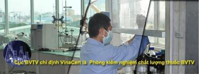 Cục Bảo vệ Thực vật chỉ định VinaCert là phòng Kiểm nghiệm chất lượng thuốc bảo vệ thực vật