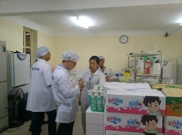 VinaCert đánh giá chứng nhận hợp quy thực phẩm Công ty Cổ phần Elovi Việt Nam