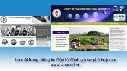 Ra mắt trang thông tin điện tử đánh giá sự phù hợp www.vinacert.vn