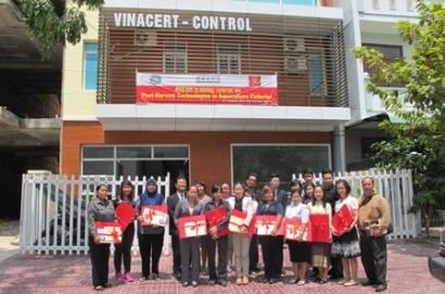 Khóa tập huấn về công nghệ sau thu hoạch trong nuôi trồng và khai thác thủy sản ASEAN tại VinaCert