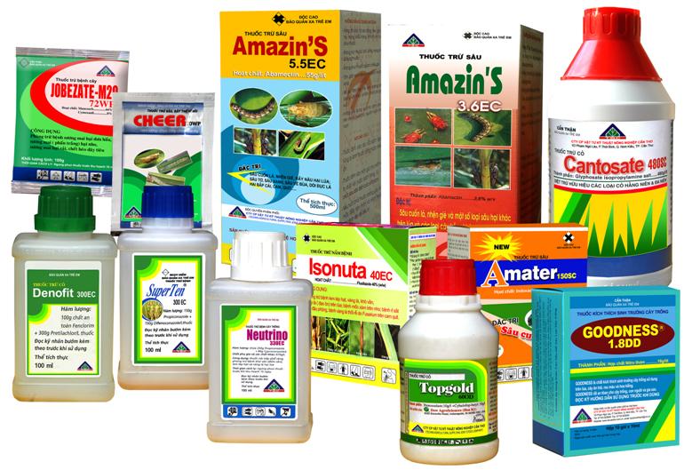 Hợp quy thuốc bảo vệ thực vật