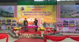 FSI thuộc VinaCert tham dự Hội thi sản phẩm mật ong bạc hà tỉnh Hà Giang năm 2017
