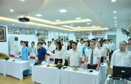 Chi bộ VinaCert tổ chức Lễ kết nạp Đảng viên mới cho 03 quần chúng ưu tú
