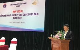 VinaCert tham gia cuộc họp tổng kết hoạt động năm 2020 của Ủy ban Codex Việt Nam