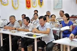 Chi bộ VinaCert được Đảng bộ Khối Doanh nghiệp Quận Hoàng Mai chọn tổ chức Đại hội điểm