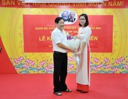 Chi bộ Công ty VinaCert tổ chức Lễ kết nạp Đảng cho đồng chí Nguyễn Thị Hồng