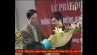[video] HN1 - VinaCert được Liên đoàn Lao động Quận trao bằng khen trong lễ phát động thi đua 2014