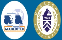 Năng lực công nhận và thừa nhận Quốc tế của Phòng thử nghiệm thuộc VinaCert